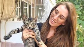 Sokak sokak gezen Ebru Çanak, kedilere işkence yapanı arıyor