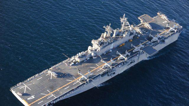 İran'a karşı ABD'nin amfibik gemi grubu bölgeye geldi