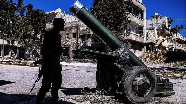 Terör örgütü YPG/PKK ağır silahlarla ÖSO'ya saldırdı: 1 ölü