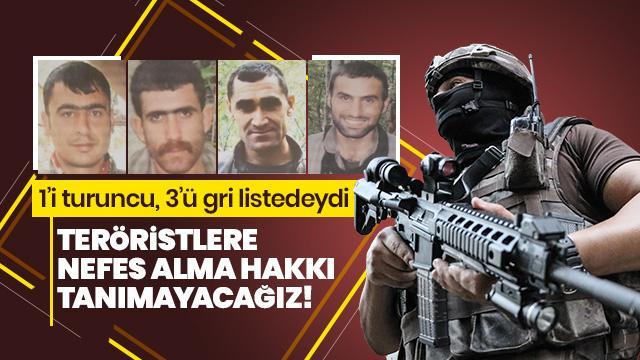 Bakanlık az önce duyurdu! 4 terörist daha öldürüldü