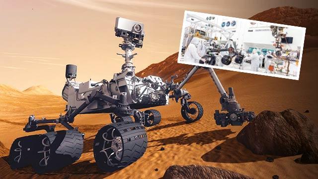 Mars robotunasüper tekerlek
