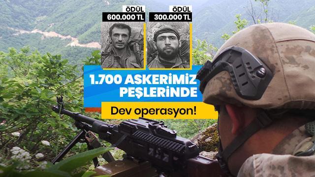 Bin 700 asker bu ikisinin peşinde!