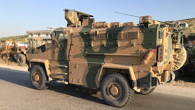 Suriye sınırına askeri ve personel sevkiyatı