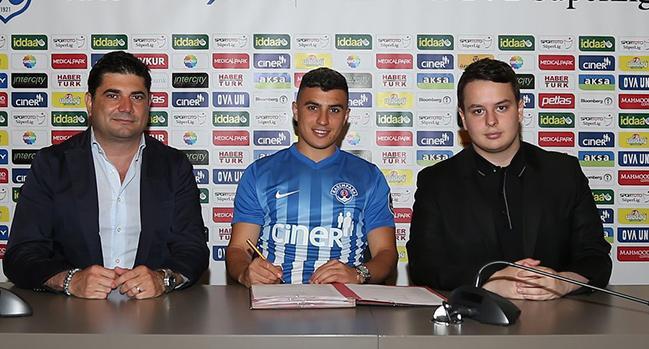 Kasımpaşa, Karim Hafez'i bir sezon daha kiraladı