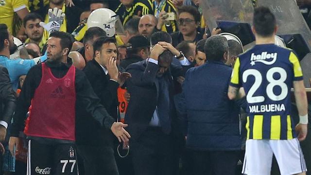 Fenerbahçe-Beşiktaş derbisindeki olaylara ilişkin sanıkların yargılanmasına başlandı