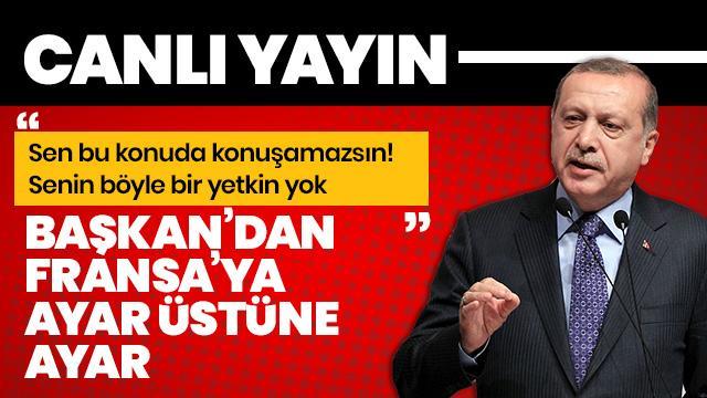 Başkan Erdoğan'dan önemli açıklamalar: Siyaset anlayışımızda millete küsmek, milleti suçlamak yoktur