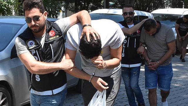 Samsun'da 4 yabancı uyruklu şahsa uyuşturucu ticaretinden gözaltı