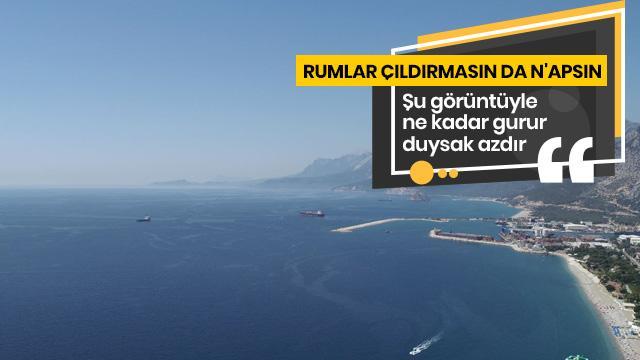 Türkiye'nin gururu Yavuz ilgi odağı oldu