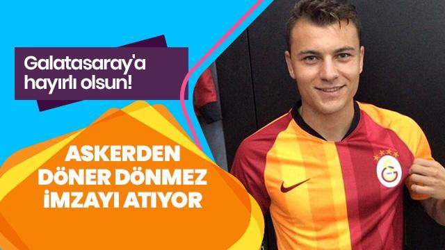 Yusuf Eroğan'ın askerden döner dönmez Galatasaray'a imza atacağı açıkladı