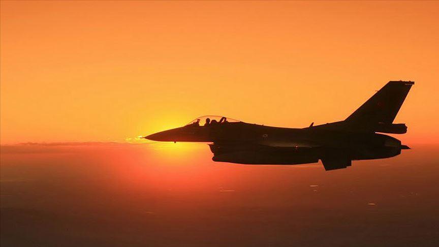 Irak'ın kuzeyinde PKK'ya ait hedefler vuruldu