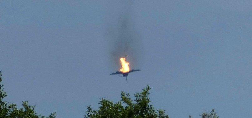 Almanya'da iki Eurofighter uçağının düşmesi: Pilotun cesedine ulaşıldı