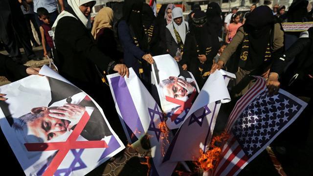 Batı Şeria'da Bahreyn Çalıştayı protesto edildi