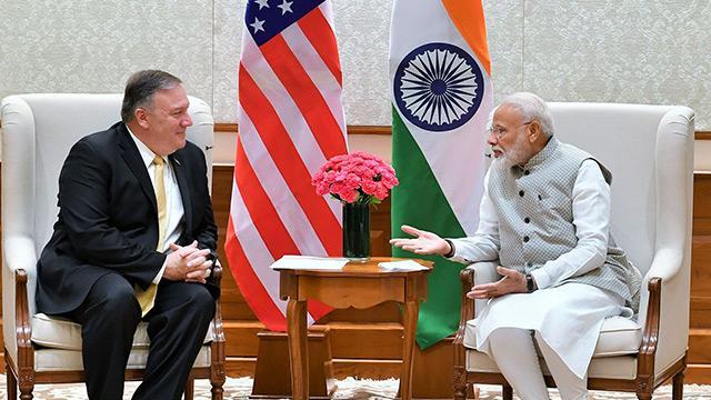 Pompeo'nun Hindistan ziyaretinde S-400 tartışması damga vurdu