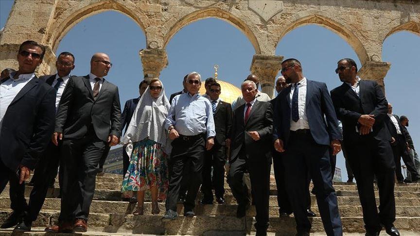 Şili Devlet Başkanının Mescid-i Aksa ziyareti İsrail'i rahatsız etti