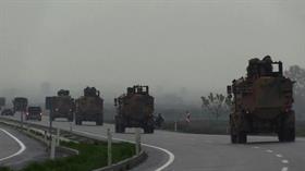 TSK tarafından Suriye sınırına askeri sevkiyat yapıldı