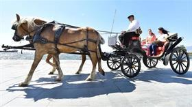 Antalya'nın ardından İzmir'de de fayton devri kapandı