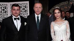 Milli güreşçi Rıza Kayaalp, Zeynep Yılmaz ile evlendi! Başkan Erdoğan nikah şahidi oldu