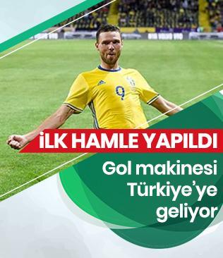 Trabzonspor, İsveçli golcü için 1.2 milyon Euro'luk teklifte bulundu
