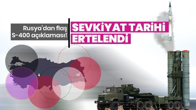 'Rusya, S-400'lerin Türkiye'ye sevkiyatını yıl sonuna kadar tamamlamayı planlıyor'