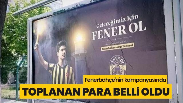 Fenerbahçe'nin kampanyasında toplanan para belli oldu