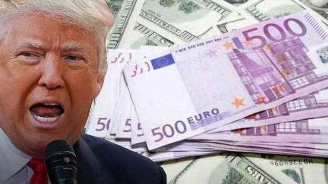 """""""Trump doların euro karşısında çok güçlendiğini düşünüyor"""""""