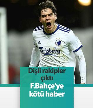 Fenerbahçe'nin ilgilendiği Skov'a Dortmund ve Sociedad'ın talip olduğu ortaya çıktı