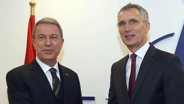 Milli Savunma Bakanı Akar ile NATO Genel Sekreteri Stoltenberg görüştü