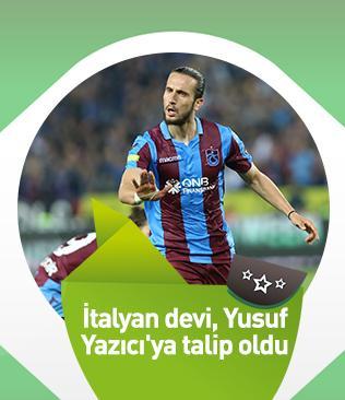Lazio, Trabzonspor'un yıldız oyuncusu Yusuf Yazıcı'yı transfer etmeye hazırlanıyor