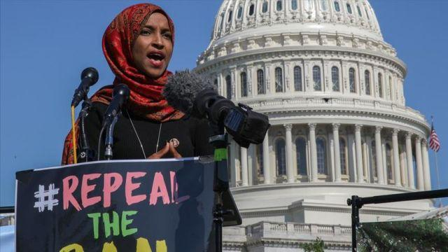 ABD'de 'Müslümanlara vize yasağı' protesto edildi