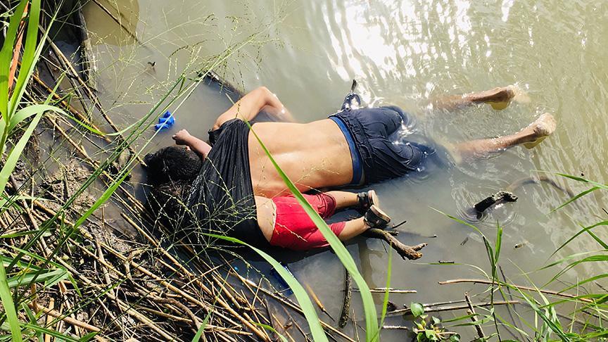 Yeni 'Aylan Kurdi' dramı: Meksika-ABD sınırında iki yaşındaki mülteci kız ve babası boğuldu