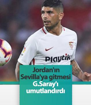Jordan'ın Sevilla'ya transferi Banega'nın Galatasaray'a gelme ihtimalini artırdı