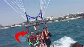 Antalya'da feci ölüm! Filistinli turist 50 metreden denize çakıldı