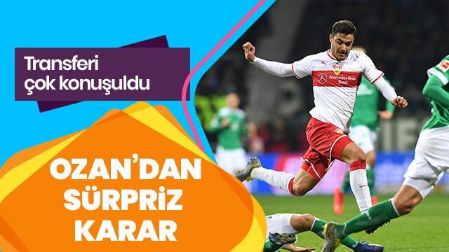 Transferi çok konuşuldu! Ozan Kabak'tan sürpriz karar