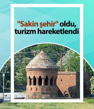 """Ahlat ilçesi """"Sakin şehir"""" üyeliğinin kabul edilmesiyle turistlerin uğrak yeri oldu"""