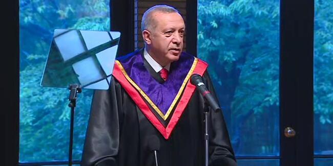 Başkan Erdoğan Batı'yı bu sözlerle eleştirdi: Dikenli tel örgülerin arkasında huzur aramayı tercih ettiler