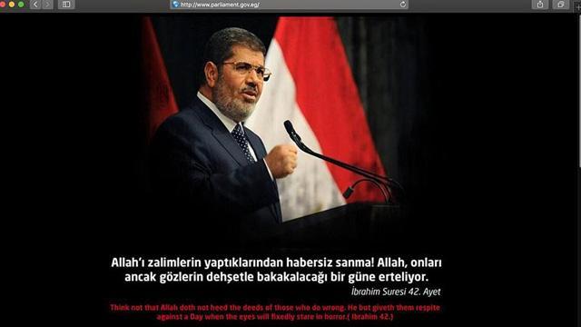 Türk bilgisayar korsanları darbeci Sisi yönetimine ait bazı devlet sitelerini hackledi