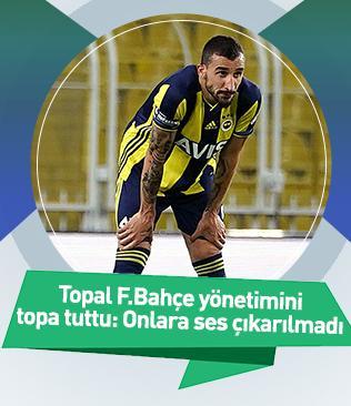 Mehmet Topal, ayrılığın ardından Fenerbahçe yönetimine ve taraftarlara sitem etti