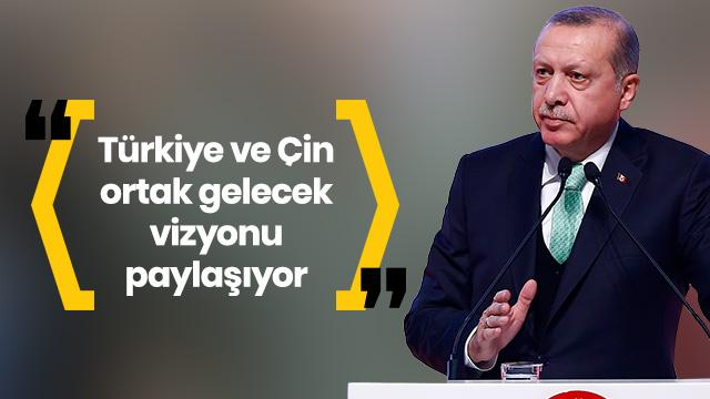 Başkan Erdoğan: Çin'e ticaret çağrısı. ile ilgili görsel sonucu