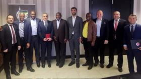 Güney Afrika Devlet Başkanından Türk heyetine 15 Temmuz'da anlamlı kabul