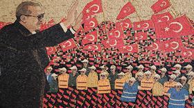 Suriyeli sanat tarihçisi Abdulsettar Al Sattuf, 15 Temmuz'u mozaikle anlattı