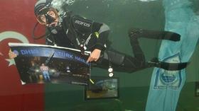 Türkiye'de bir ilk! Su altında sergileniyor, 19 Temmuz'a kadar ücretsiz