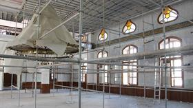 Ecdat yadigarı cami aslına uygun yenileniyor