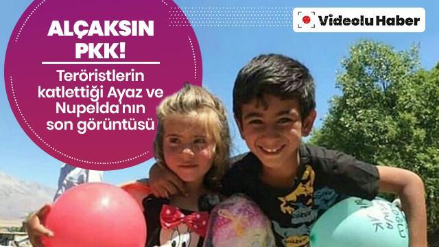 PKK'lı teröristler dün katletmişti! Son görüntüleri ortaya çıktı