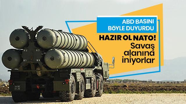 ABD basını böyle duyurdu: Hazır ol NATO! Rusya'nın S-500'leri savaş alanına iniyor