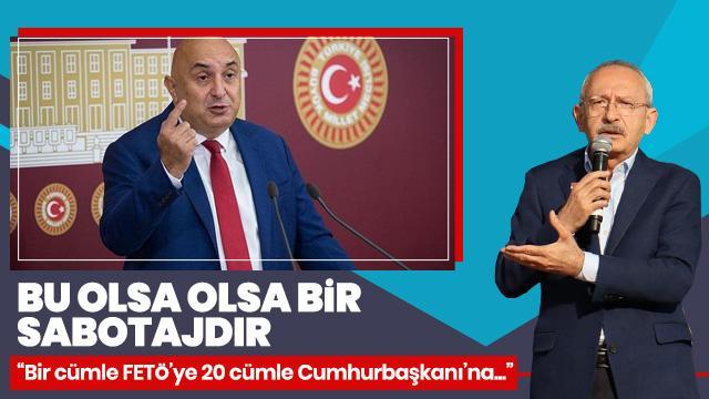 AK Partili Çelik'ten CHP sözcüsüne tepki: Bu bir sabotajdır