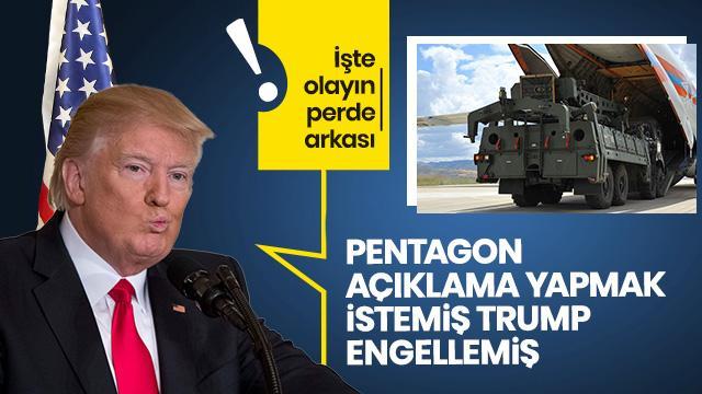 Perde arkası ortaya çıktı: Pentagon'u Trump engelledi