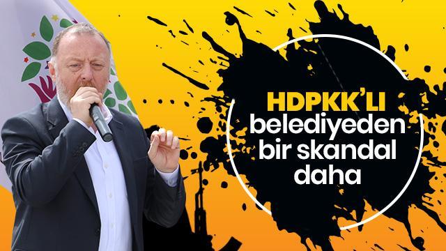 HDP'li belediyeden bir skandal daha