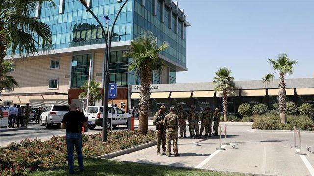 Erbil saldırısını haberleştirmek isteyen Al Jazeera muhabirleri darbedildi