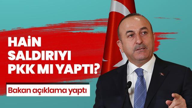Erbil'deki hain Saldırıyı PKK mı yaptı? Bakan Çavuşoğlu'ndan açıklama geldi