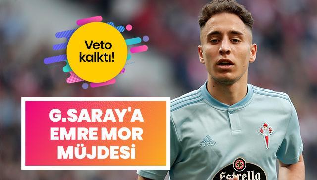 Veto kalktı! Galatasaray'a Emre Mor müjdesi
